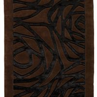 Thea Black Brown 140x200