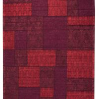 Patchwork 9 Red